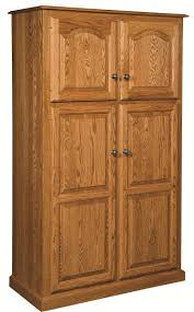 free standing kitchen pantry 3 amish country traditional