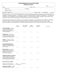 business forms employee evaluation form word essay template