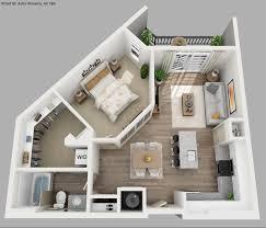One Room Apartment Floor Plans Studio Apartment Floor Plans 3d Maduhitambima Com