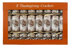 thanksgiving turkey s crackers set of 8