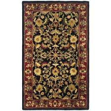 oriental black area rugs rugs the home depot