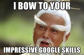 Meme Generator Google - i bow to your impressive google skills kungfu master meme