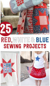Fourth Of July Tablecloths by 25 4th Of July Sewing Projects