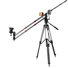 amazon com ashanks camera jib crane 6 5ft 2m mini carbon fiber