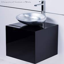 20 Inch Bathroom Vanity With Sink by Black Lacquered Bathroom Vanity 20 Inch