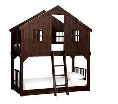 Tree House TwinoverTwin Bunk Bed Pottery Barn Kids - Twin over twin bunk beds