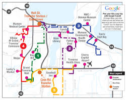 Bus Route Map City Loops Routes 1 5 Bata