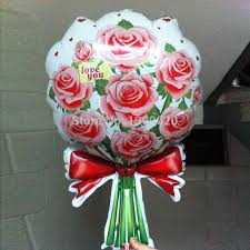 valentines day balloons wholesale hot wholesale 50pcs lot s day foil balloons mylar