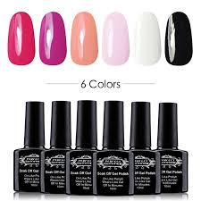 amazon com pro gel nail polsih set nail art uv led soak off