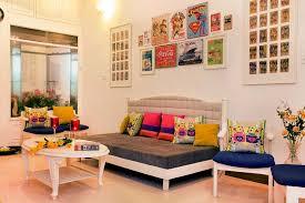 Twinkle Khanna House Interiors Fashion Designer Nida Mahmood U0027s Home Looks Vivacious With