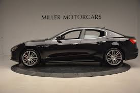 maserati sedan black 2018 maserati ghibli sq4 gransport stock w503 for sale near