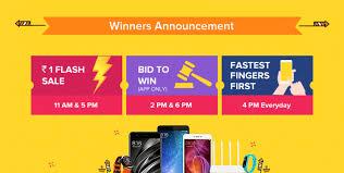 bid 2 win diwali with mi 1 flash sale bid to win and fastest fingers