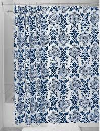 Blue And White Floral Curtains Navy Floral Curtains Ideas With Light Blue Patterned