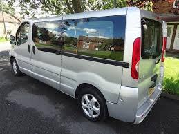 renault minivan renault trafic ll29 dci 115 passenger bus crew van not vauxhall