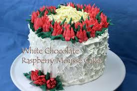 white chocolate raspberry mousse cake gretchen u0027s bakery