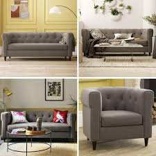 Grey Linen Sofa by Grey Linen Slipcovered Sofa Tags 43 Wonderful Gray Linen Sofa