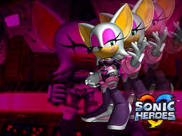 rouge the bat sonic heroes minecraft skin