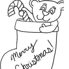 santa bear coloring kids drawing coloring pages marisa