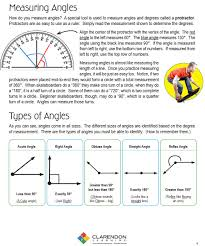 how do you use a protractor to measure angles