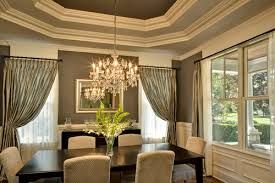 Dining Room Crystal Chandeliers Interior Home Design - Dining room crystal chandelier