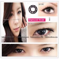 eos diamond violet contact lens pair 218v 14 99 order