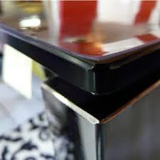 nappe cuisine plastique protège table transparent 100 100 nappe de table pvc badaboum