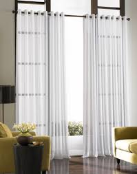 bedrooms splendid window sheers white curtain panels living room