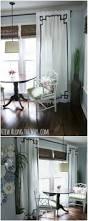 Greek Key Trim Drapes 20 Elegant And Easy Diy Curtain Ideas To Dress Up Your Windows
