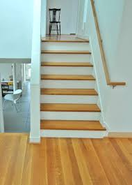 magnificent wooden stair treads applies for modern staircase plus