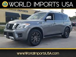 2017 nissan armada platinum used 2017 nissan armada platinum awd for sale in jacksonville fl