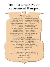 37th annual citizens u0027 police retirement banquet the rap sheet