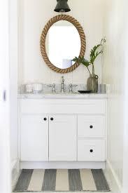 Industrial Bathroom Mirror by Farmhouse Industrial Powder Room Farmhouse With Wall Sconces