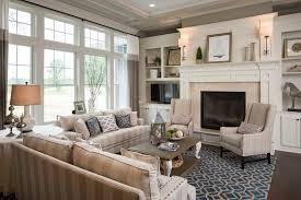 Striped Sofas Living Room Furniture Home Decoration Living Room Traditional With Beige Striped Sofa