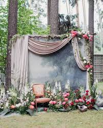 wedding backdrop outdoor trending 15 wedding backdrop ideas for your ceremony oh