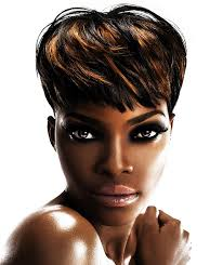 hair styles for black women age 44 for a heart shaped faces