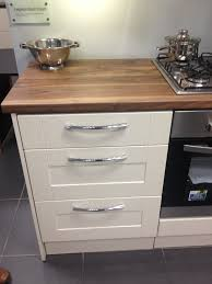 leighton gloss cream kitchen from magnet kitchen makeover