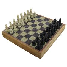 marble stone chess board and pieces set rajasthan stone art