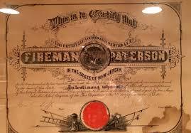 ephemera paterson fire history