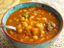 cuisiner les haricots blancs loubia algerienne haricots blancs en sauce le cuisine de samar