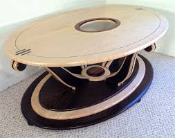 Art Deco Coffee Table by Custom Handmade High End Art Deco Style Coffee Table