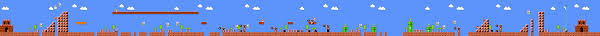 Super Mario World Level Maps by Super Mario Bros Maps Worlds 1 8 Gif Dj Oldgames