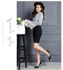 sous les jupes au bureau acheter yiber nouveau style d été jupe crayon pour fille bureau