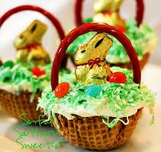 best easter basket easter basket cupcakes happy easter 2017