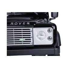 metallic land rover licensed land rover defender 12v ride on car with remote