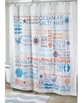 Words Shower Curtain Holiday Sale Avanti Beach Words Shower Curtain 72 In X 72 In