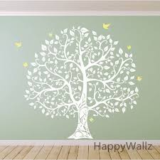 large tree wall sticker bird tree wall decal diy decorating family