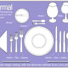 how to set a table with silverware proper way to set a table table settings proper way to set it proper
