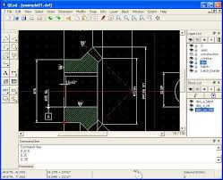 qcad open source cad system software