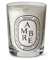 diptyque ambre scented candle selfridges
