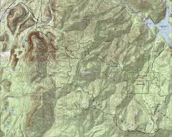 Green Ridge State Forest Map by Charley Creek Natural Area Green River Watershed